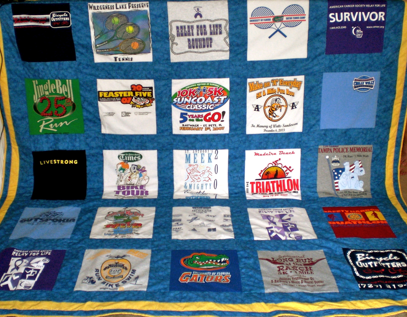 T-Shirt Quilt - Women's Running : making a t shirt quilt - Adamdwight.com